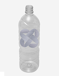 Botella pet para agua 1000ml. (s)